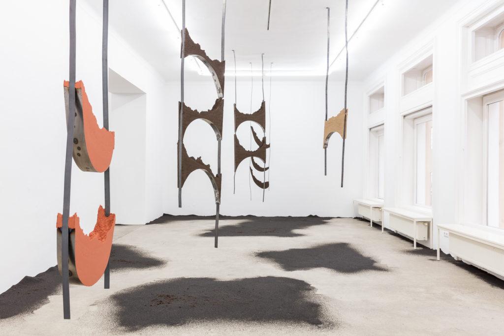Angelika Loderer, Quiet Fonts, Exhibition View, Sophie Tappeiner 2017. Photography: www.kunst-dokumentation.com.