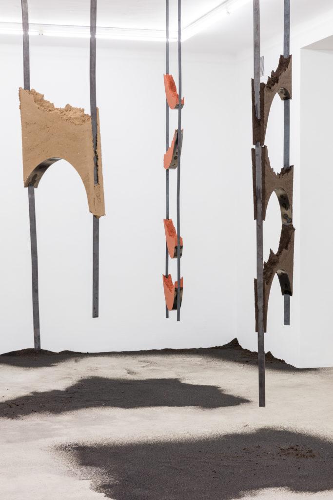Angelika Loderer, Quiet Fonts, Exhibition View, Sophie Tappeiner 2017.