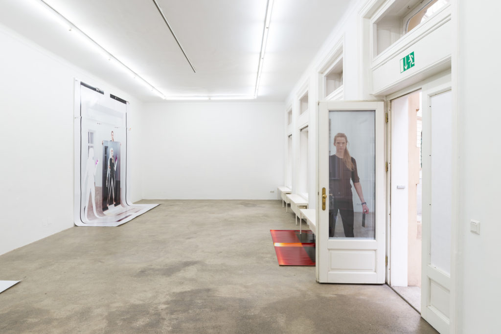 Sophie Thun, Double Release, exhibition view, Sophie Tappeiner, 2018
