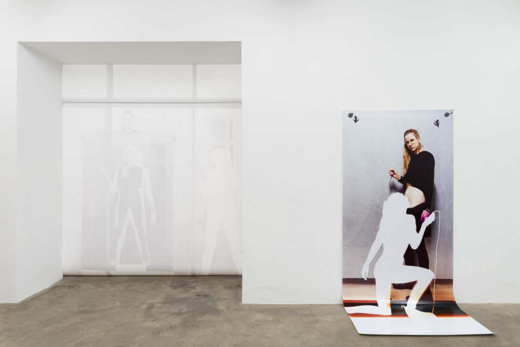 Sophie Thun, Double Release, exhibition view, Sophie Tappeiner 2018