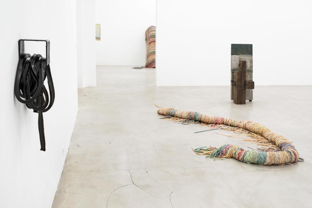 Cäcilia Brown, Christoph Meier, Liesl Raff, curated by Peter Pakesch, exhibition view, Nikolas Krupp, Basel, 2019